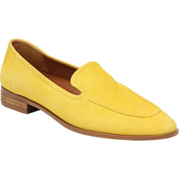 フランコサルト レディース サンダル シューズ Clarise Moc Toe Loafer Yellow Suede