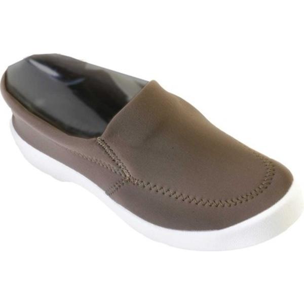 アルコペディコ レディース スニーカー シューズ Town Slip On Sneaker Khaki Lycra
