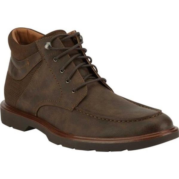 ドッカーズ メンズ ブーツ&レインブーツ シューズ Grady Moc Toe Ankle Boot Chocolate Synthetic Leather