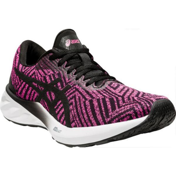 アシックス レディース スニーカー シューズ Roadblast Running Sneaker Pink Glo/Black (Tokyo)