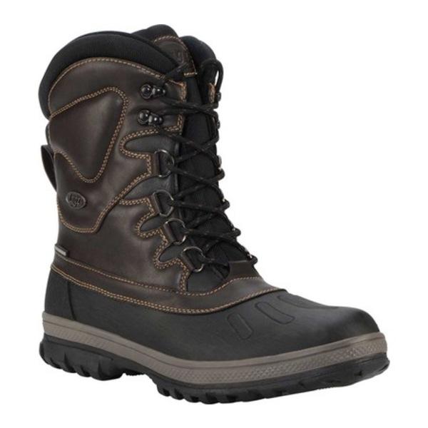 ラグズ メンズ ブーツ&レインブーツ シューズ Anorak Waterproof Boot Carob/Otter/Black/reddish‐brown Synthetic Leather