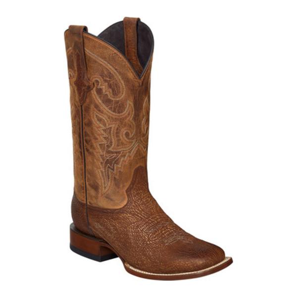 ルケーシー メンズ ブーツ&レインブーツ シューズ Ryan W Toe Western Boot Cognac Sharkskin