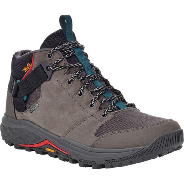 テバ メンズ ブーツ&レインブーツ シューズ Grandview GTX Waterproof Hiking Boot Dark Gull Grey Waterproof Leather/Fabric
