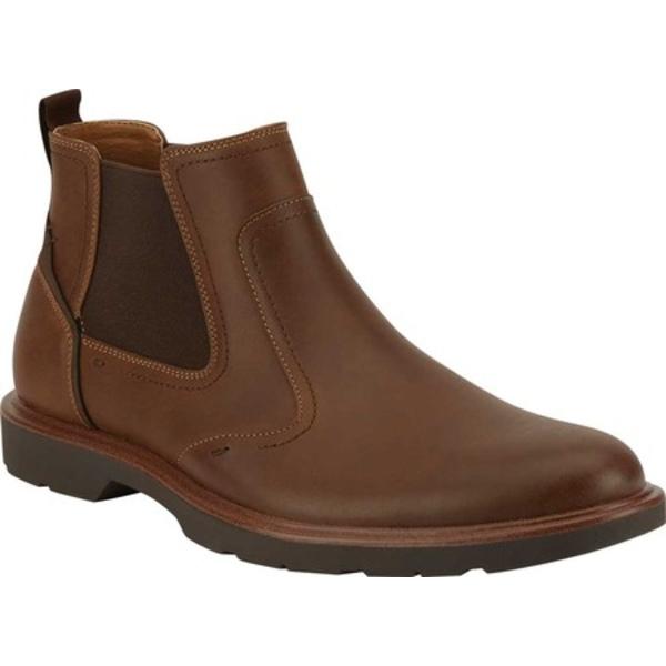 ドッカーズ メンズ ブーツ&レインブーツ シューズ Garrett Chelsea Boot Tan Synthetic Leather
