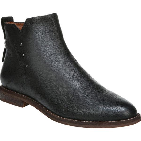 フランコサルト レディース ブーツ&レインブーツ シューズ Owen Ankle Bootie Black Pirin Wax Leather