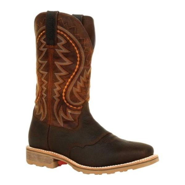 ヂュランゴ メンズ ブーツ&レインブーツ シューズ DDB0299 Maverick Pro Waterproof Western Work Boot Cimarron Brown Full Grain Leather