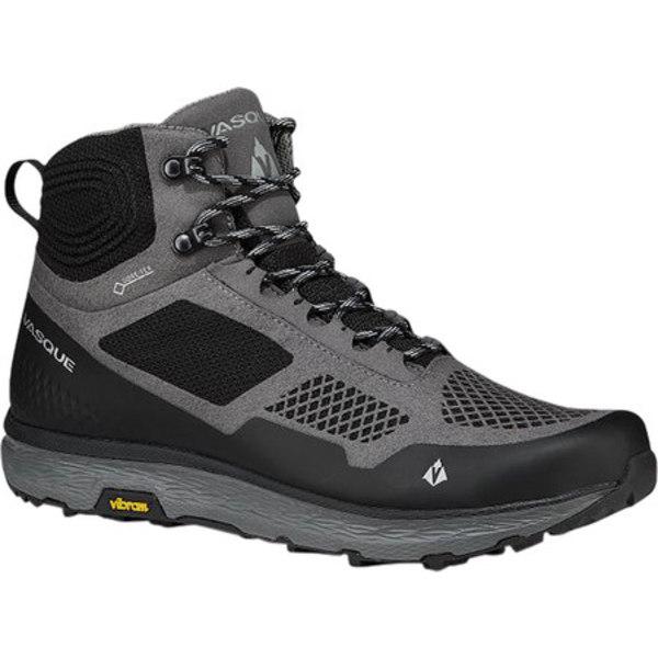 バスク メンズ ブーツ&レインブーツ シューズ Breeze LT GORE-TEX Hiking Boot Gargoyle/Jet Black Microfiber/Mesh