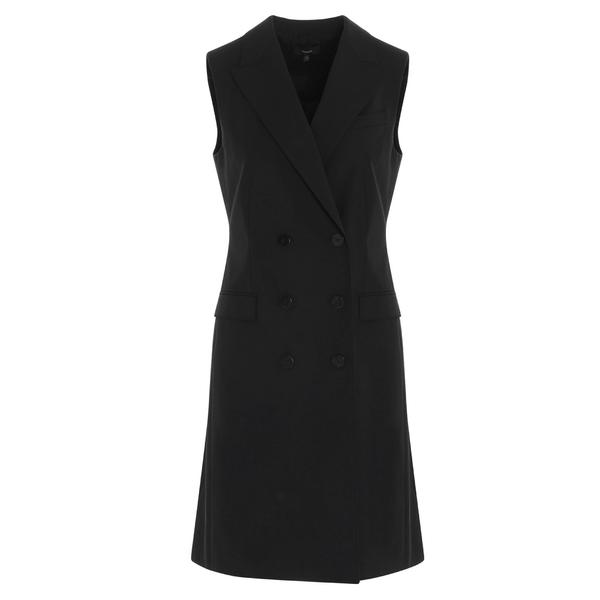名作 セオリー レディース ワンピース トップス Theory Double Breasted Vest Dress -, 川本町 ebe0ce67