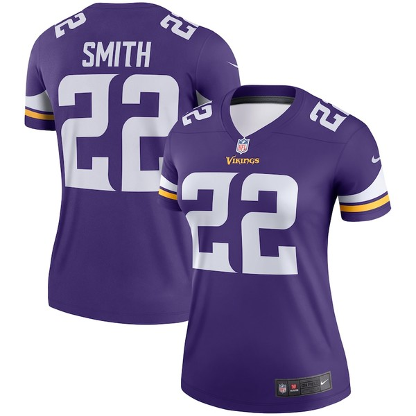 ナイキ レディース シャツ トップス Harrison Smith Minnesota Vikings Nike Women's Legend Jersey Purple
