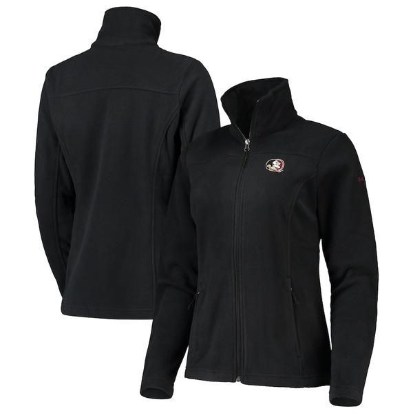 コロンビア レディース ジャケット&ブルゾン アウター Florida State Seminoles Columbia Women's Give & Go II Fleece Full-Zip Jacket Black