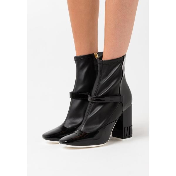 モスキーノ レディース シューズ オープニング 大放出セール ブーツ レインブーツ nero 全商品無料サイズ交換 High - boots ankle 2020A/W新作送料無料 role005b heeled