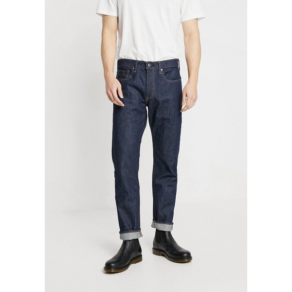 リーバイス メイド アンド クラフテッド メンズ デニムパンツ ボトムス LMC 502 - Straight leg jeans - lmc resin rinse stretch role0061