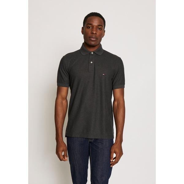 トミー ヒルフィガー メンズ トップス ポロシャツ grey アウトレット☆送料無料 スピード対応 全国送料無料 rqla024d - Polo REGULAR shirt 全商品無料サイズ交換
