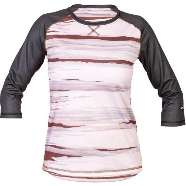 ゾイック レディース スポーツ 半額 サイクリング Rosewood Stripe Jerra Jersey AL完売しました。 全商品無料サイズ交換 Women's -