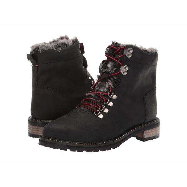 ジュールズ レディース ブーツ&レインブーツ シューズ Leather Hiker Boot Black