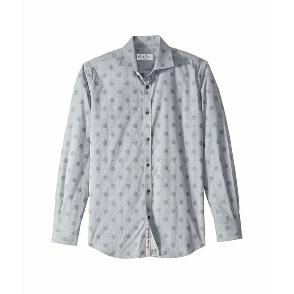 ロバートグラハム メンズ シャツ トップス Kit - Medallion Dress Shirt Grey