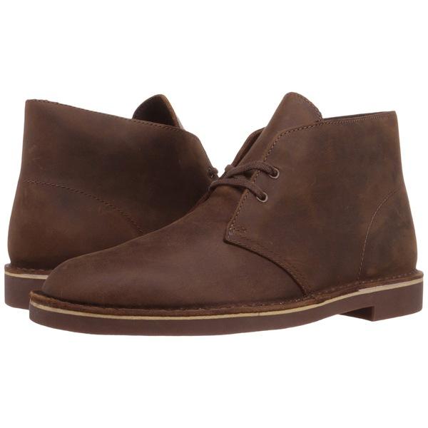 クラークス メンズ ブーツ&レインブーツ シューズ Bushacre 2 Beeswax Leather