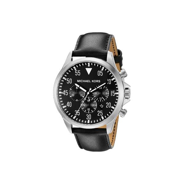 マイケルコース メンズ 腕時計 アクセサリー Gage MK8442 - Silver/Black