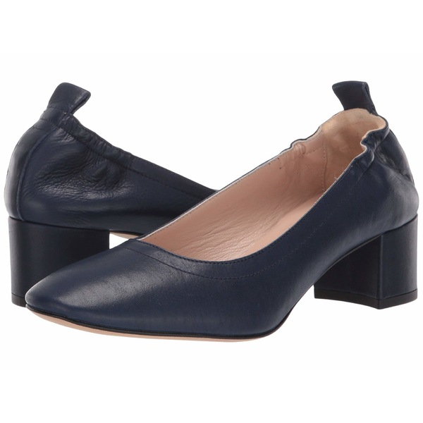 サミット レディース ヒール シューズ Vittoria Heel Navy Leather