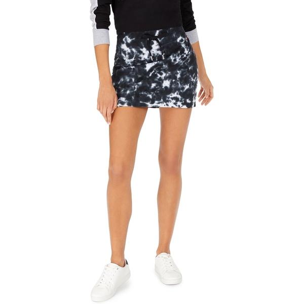 【代引可】 トミー ヒルフィガー レディース スカート ボトムス Tie-Dye Mini Skirt, Black, アサギリ町 b4216e41