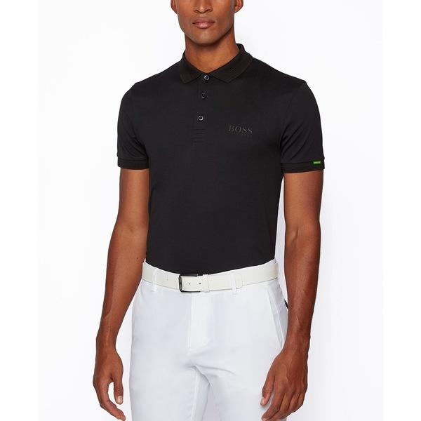 超格安一点 ヒューゴボス メンズ ポロシャツ トップス BOSS Men&39;s Paddy Regular-Fit Polo Shirt Black, 松代町 e80789d2