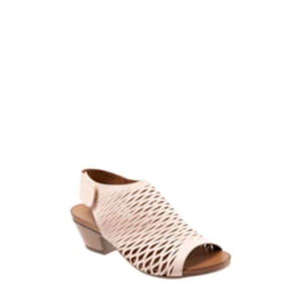 ブエノ レディース サンダル シューズ Lacey Slingback Sandal Pale Pink Leather
