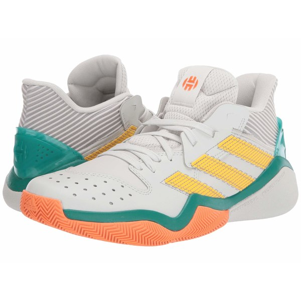 アディダス メンズ スニーカー シューズ Harden Stepback Orbit Grey/Dove Grey/Glory Green