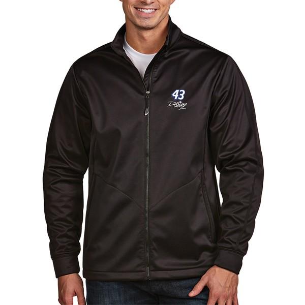アンティグア メンズ ジャケット&ブルゾン アウター Darrell Wallace Jr. Antigua Golf Full Zip Jacket Black