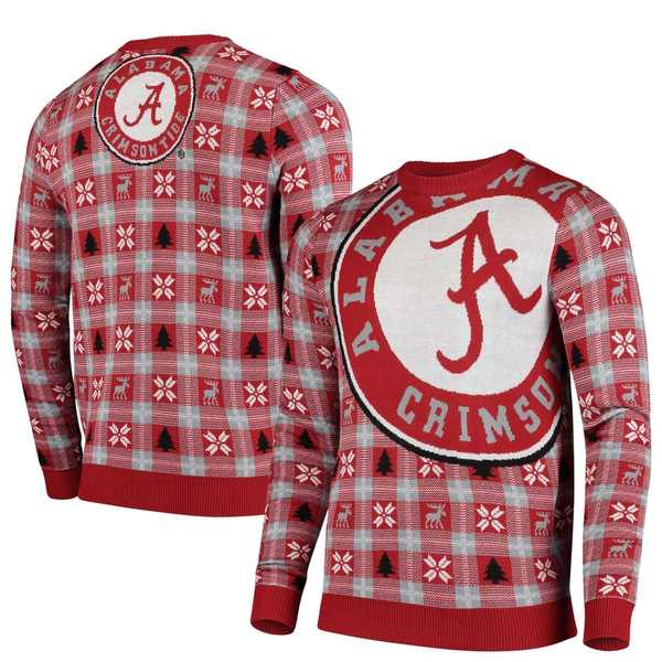 フォコ メンズ シャツ トップス Alabama Crimson Tide Big Logo Sweater Crimson