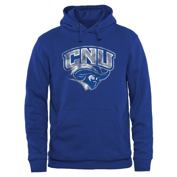 ファナティクス メンズ パーカー・スウェットシャツ アウター Christopher Newport University Captains Classic Primary Pullover Hoodie Royal