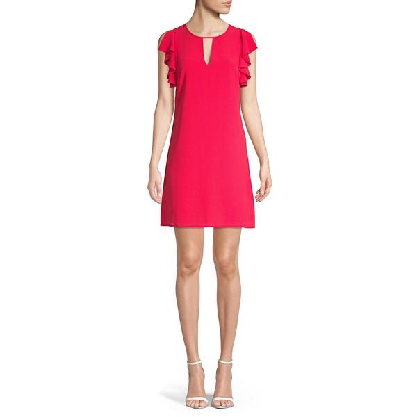 ヴィンスカムート レディース ワンピース トップス Cut-Out Dress Strawberry
