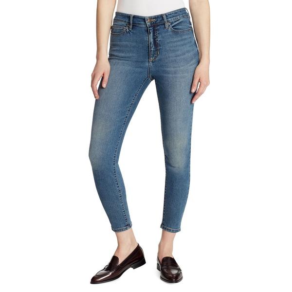 エラモス レディース デニムパンツ ボトムス High Rise Skinny Ankle Jeans Bardot