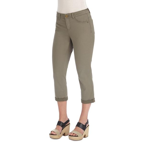 デモクラシー レディース デニムパンツ ボトムス Ab Solution Cropped Jeans Brindle