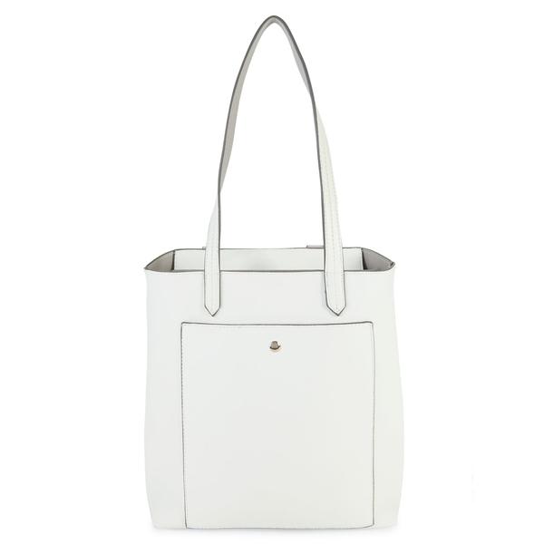 コレクションエイティーン レディース トートバッグ バッグ Faux Leather Tote Bag White