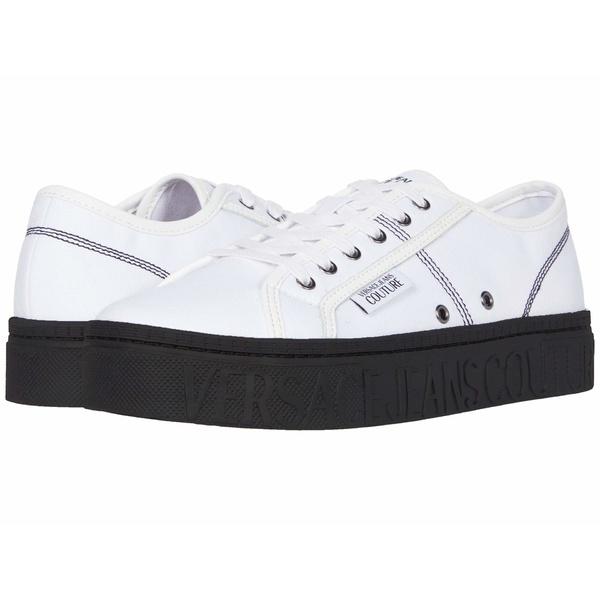ベルサーチ メンズ スニーカー シューズ Brick Low Top Sneaker White