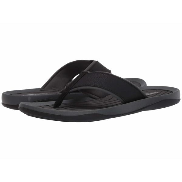 ケネスコール メンズ サンダル シューズ Floyd Flip Sandal Black/Grey