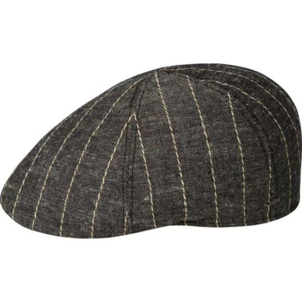 ベーリー オブ ハリウッド メンズ アクセサリー 帽子 Black Men's Marl 全商品無料サイズ交換 Rowson 驚きの値段 Flat 日本製 Cap 90138