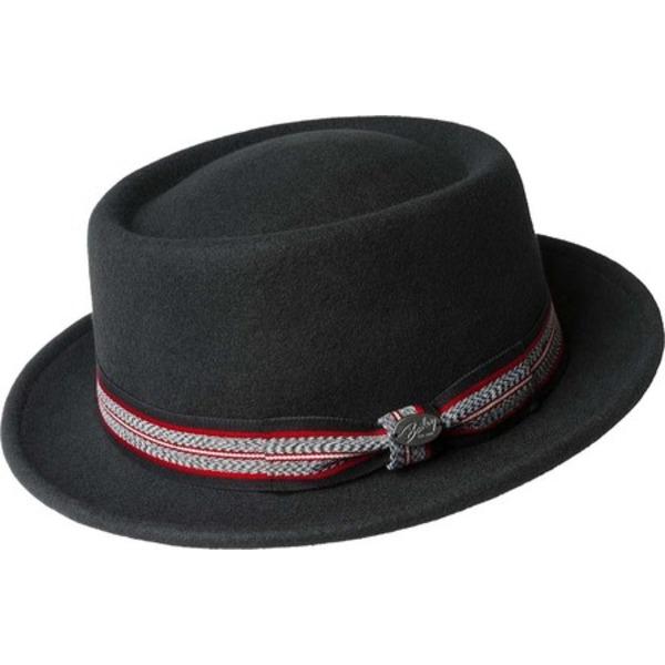 ベーリー オブ ハリウッド メンズ 期間限定の激安セール アクセサリー 帽子 Fedora Klaxon 全商品無料サイズ交換 Black 大放出セール Men's 38349