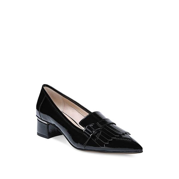 フランコサルト レディース オックスフォード シューズ Grenoble Point Toe Patent Leather Pumps Black