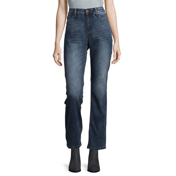 ジョーンズニューヨーク レディース デニムパンツ ボトムス Madison Lex Straight Mercer Wash Jeans Madison