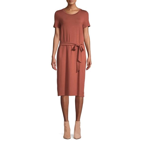ヴェロモーダ レディース ワンピース トップス Bianca T-Shirt Dress Mahogany