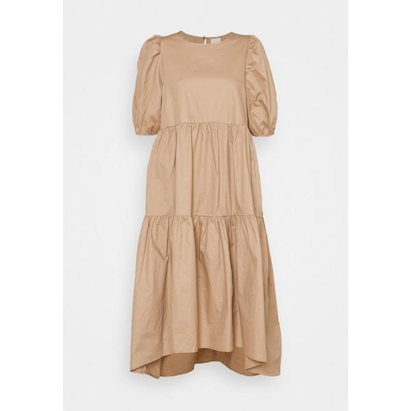 ヴィラ レディース トップス ワンピース soft camel dress - Day ついに入荷 rxys001c おトク DONNA 全商品無料サイズ交換
