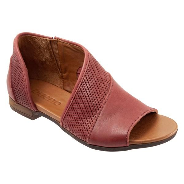 ブエノ レディース サンダル シューズ Bueno Tahiti Half d'Orsay Sandal (Women) Red Leather
