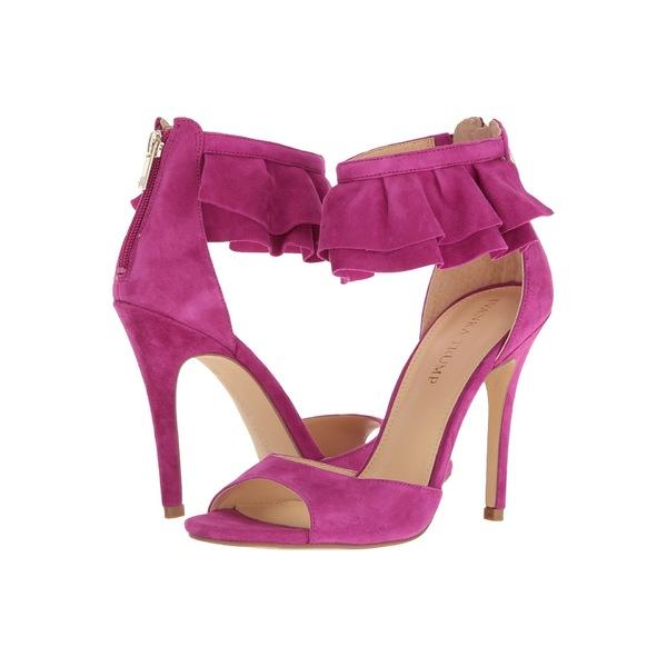 イヴァンカ・トランプ レディース ヒール シューズ Herlle Dark Pink Suede/FH Leather Suede