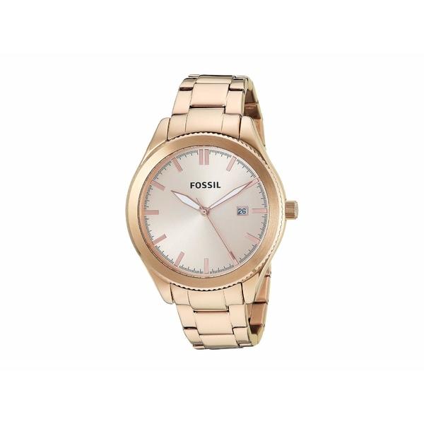 フォッシル レディース 腕時計 アクセサリー Typographer - BQ3184 Rose Gold