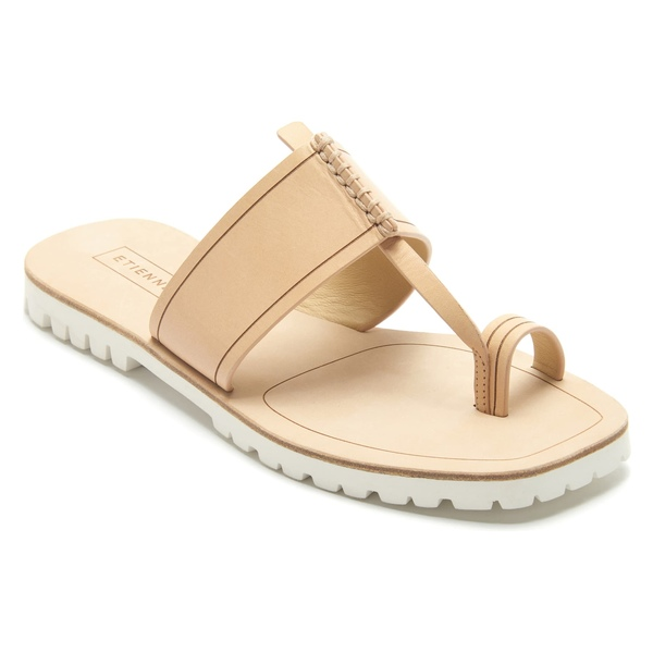 アイグナー レディース サンダル シューズ Etienne Aigner Mae Sandal (Women) Light Natural Leather