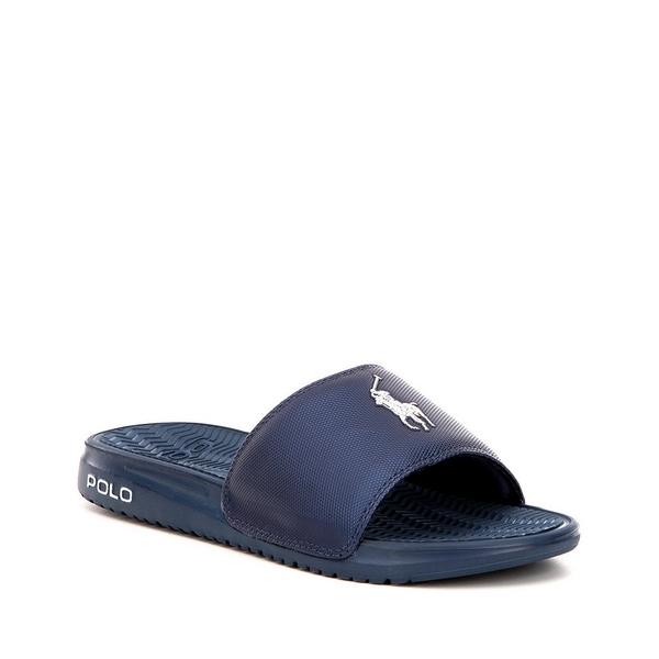 ラルフローレン メンズ サンダル シューズ Men's Rodwell Slides Blue