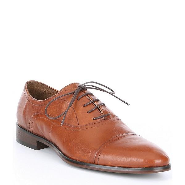 スティーブ マデン メンズ ドレスシューズ Oxford シューズ マデン Men's Offisir スティーブ Cap Toe Oxford Tan, インナーショップ Wah:94d55ba6 --- wap.assoalhopelvico.com