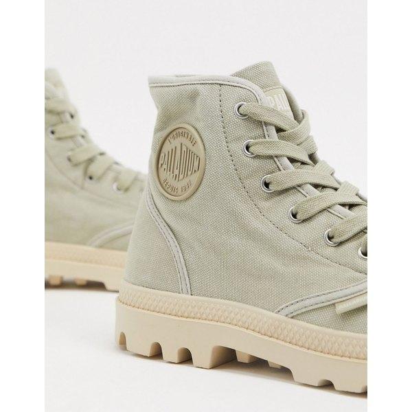 パラディウム メンズ ブーツ&レインブーツ シューズ Palladium pampa hi boots in beige Beige