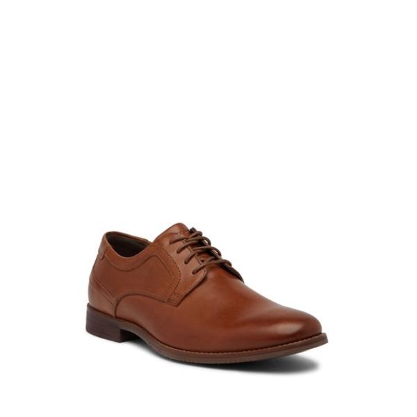 ロックポート メンズ ドレスシューズ シューズ Lace-Up Leather Shoes TAN
